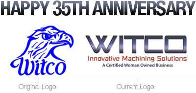 Witco Inc. is proud to celebrate 35 years of manufacturing excellence.