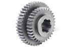 Steel 8620 - Splined Gear Cluster
